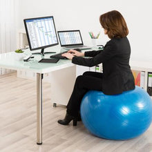 Load image into Gallery viewer, Exercise Ball Desk Chair - Desk View