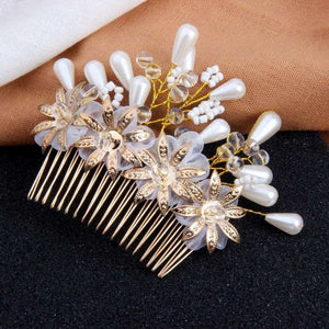 Floral Wedding Hair Accessories Hair Combs