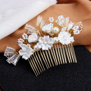 Flower Bridal Hair Accessories Bridesmaid Jewelry Hair Piece