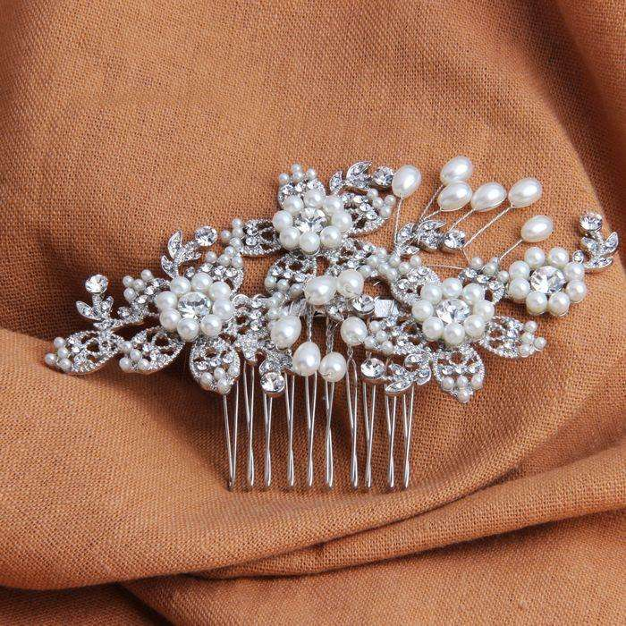 Wedding Hair Jewelry Vintage Floral Hair Combs