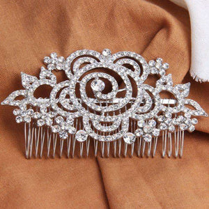 Wide Bridal Accessories Large Hair Combs