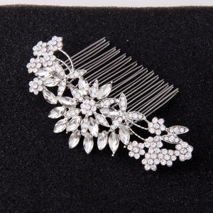 "Crystal Hair Comb Vintage Glamour for Bridesmaids ""Mariela"""
