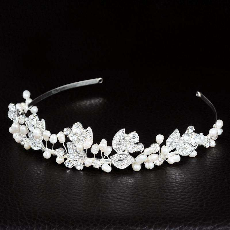 Vintage Rhinestone Bridal Headband Wedding Tiaras
