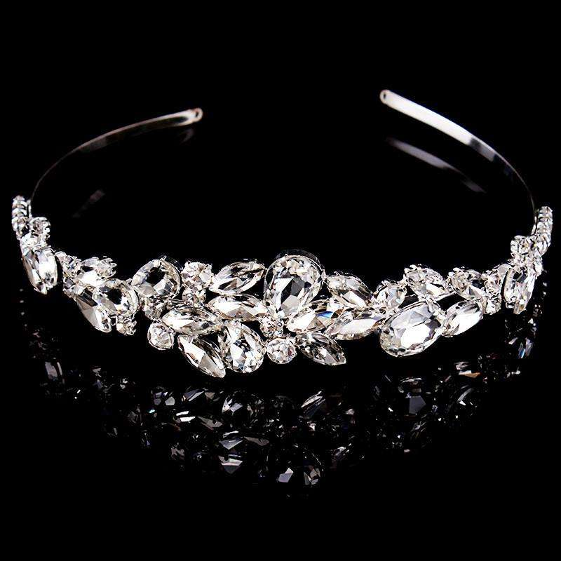 Crystal Bridal Headband Wedding Hair Jewelry