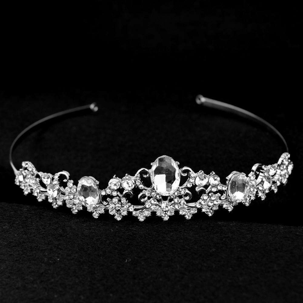 Bridal Rhinestone Crystal Headband Art Deco