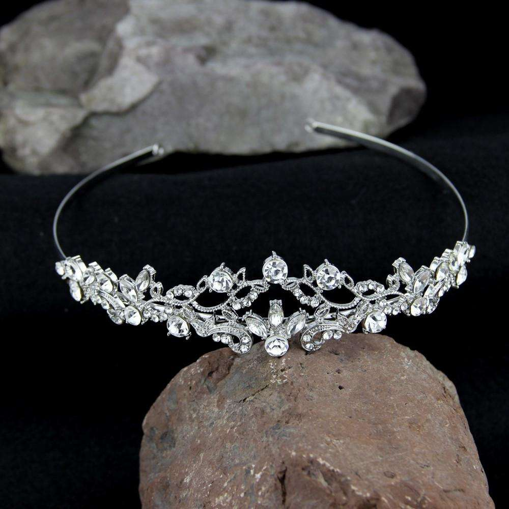 Rhinestone Crystal Prom Bridal Wedding Tiara Headband