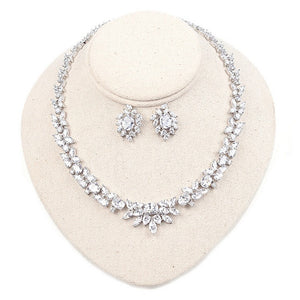 wedding jewlery sets chunky statement necklace set