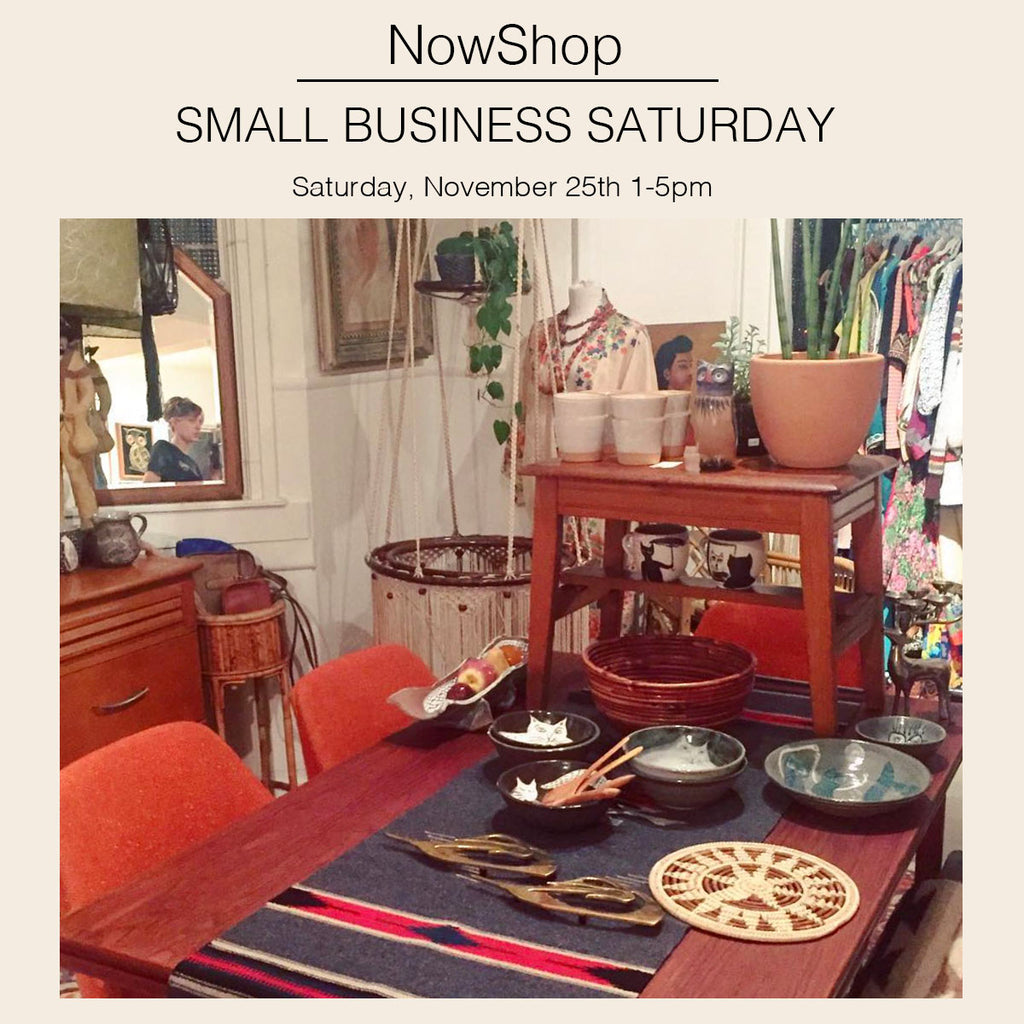 Small Business Saturday Hours