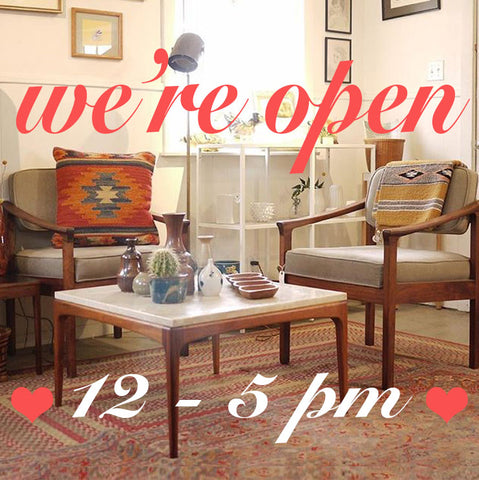 NowShop is OPEN 12 - 5! Saturday, February 10th