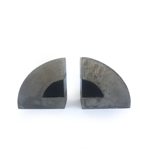 "Love & Quarry ""Wedge"" Bookends"