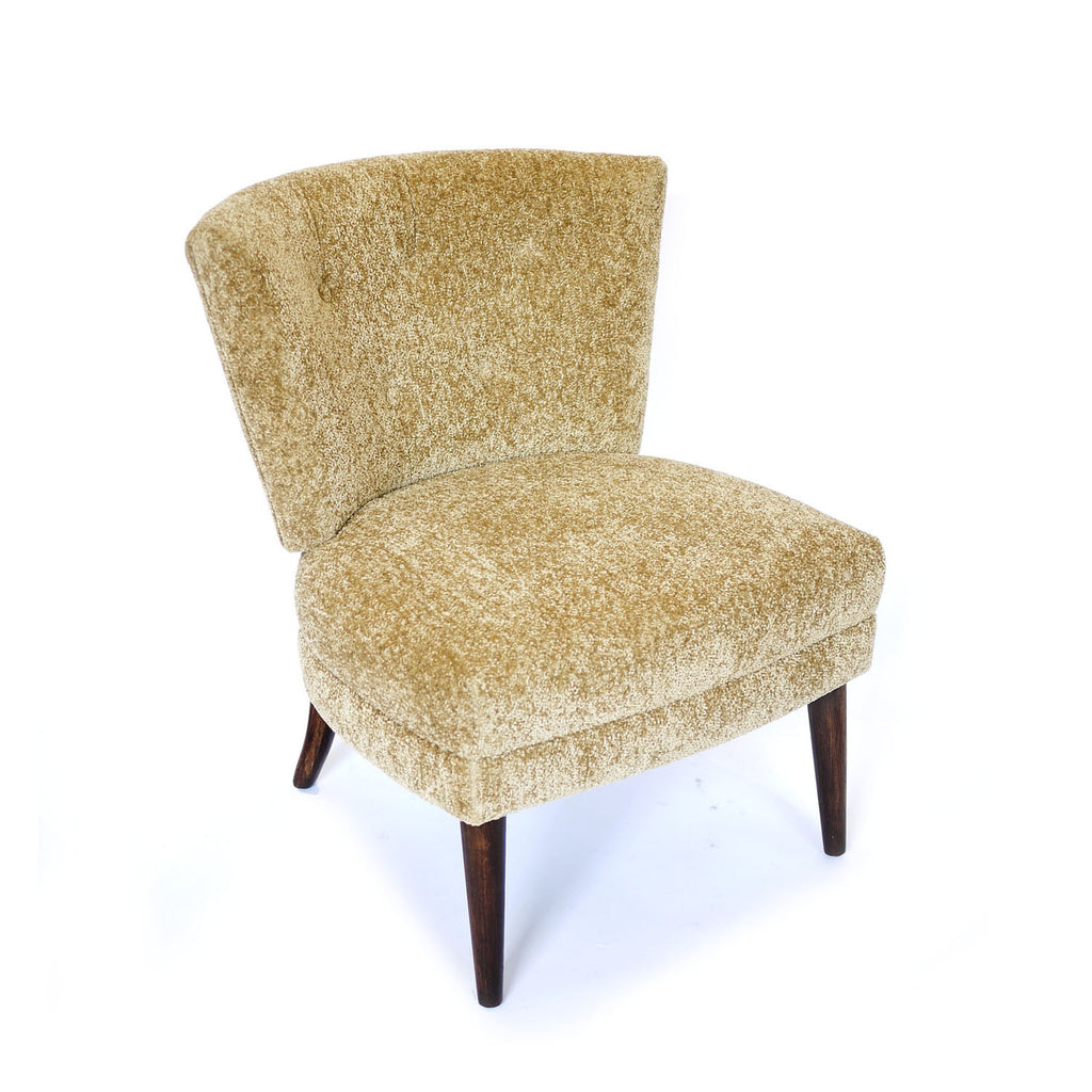 Hollywood Regency Kroehler Slipper Chair