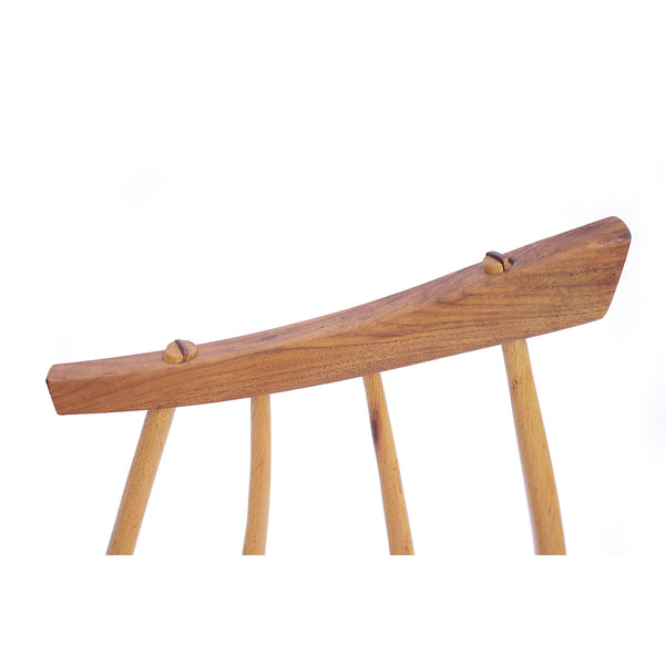 Richard Peterson Walnut Bench