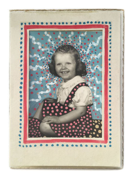 Altered Antique Cabinet Card