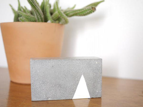 "Love & Quarry ""Brick"" Paperweights"