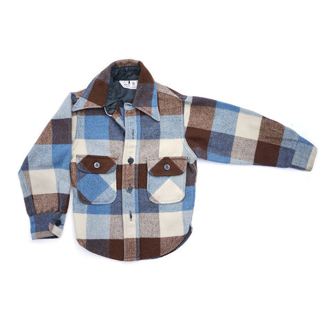 Vintage Kid's Flannel Jacket