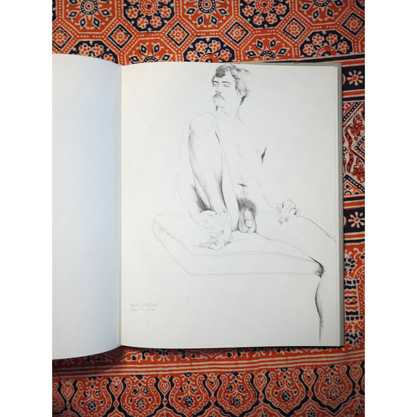 """Drawings of The Male Nude"" Don Bachardy"