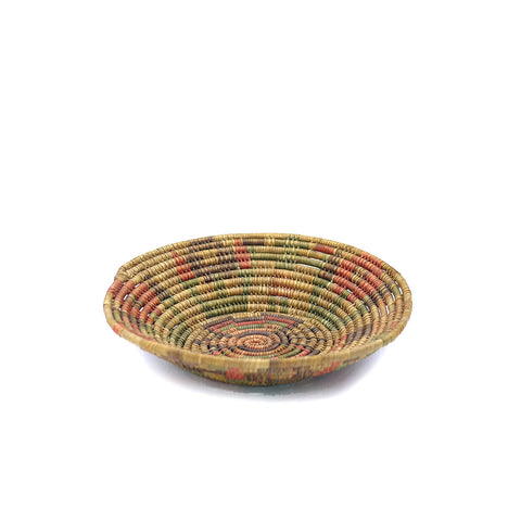 Native American Round Coil Basket