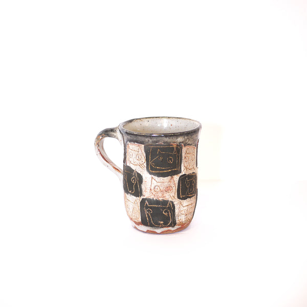 Lena Wolek, Checkered Cat Mug