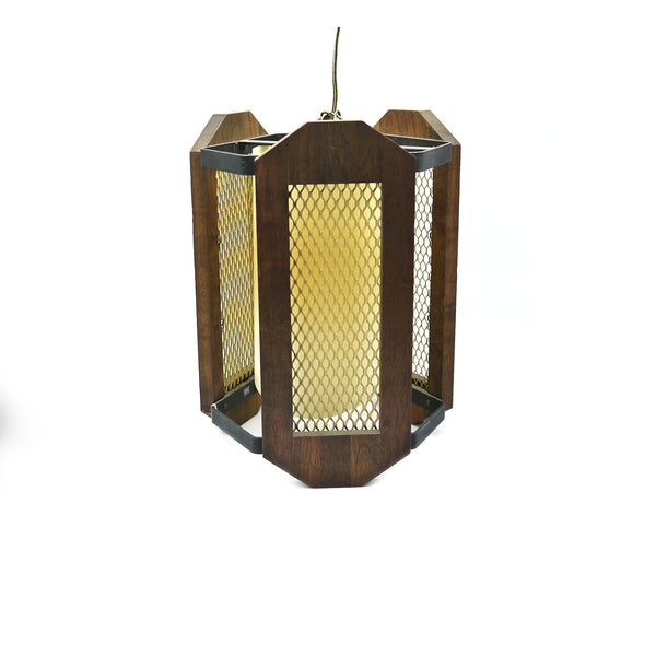 Mid Century Cathedral Hanging Lamp