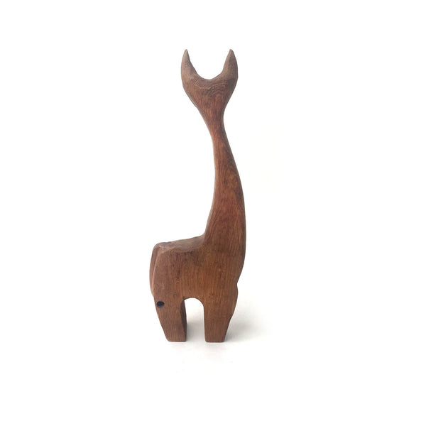 Modernist Wood Cat