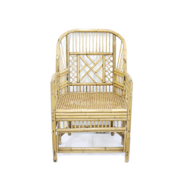 Vintage Brighton Style Bamboo Chair