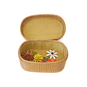 Woven Jewelry or Stash Box