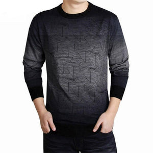 Cashmere Sweater Wool Pullover Men Pull O-Neck