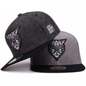 Devil Eyes Snapback Cap