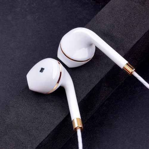 In-Ear Headphones with Volume and Mic Control