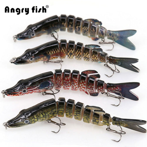8 Segment Lure Fish Bait