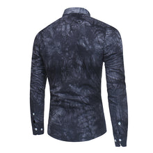 Patterned Long Sleeve Smart Casual Shirt