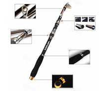 Carbon Fibre Telescopic Spinning Rod