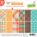 6x6 Petite Paper Pack by Lawn Fawn - Perfectly Plaid Fall