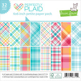 6x6 Petite Paper Pack by Lawn Fawn - Perfectly Plaid