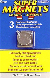 Super Magnets (3) by The Magnet Source-The Magnet Source-Stamping With Sue