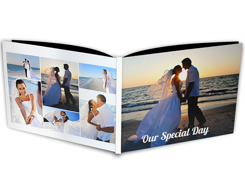 "12x16"" Canvas Cover Photo Book"