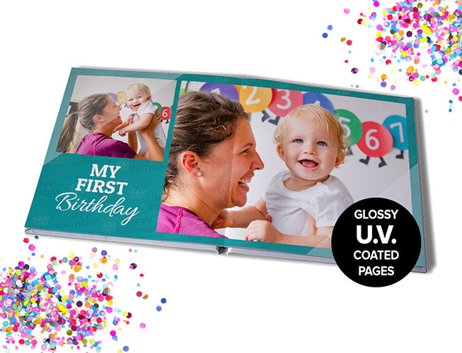 "11x11"" (28x28cm) Premium Seamless Hard Cover 20 pages"