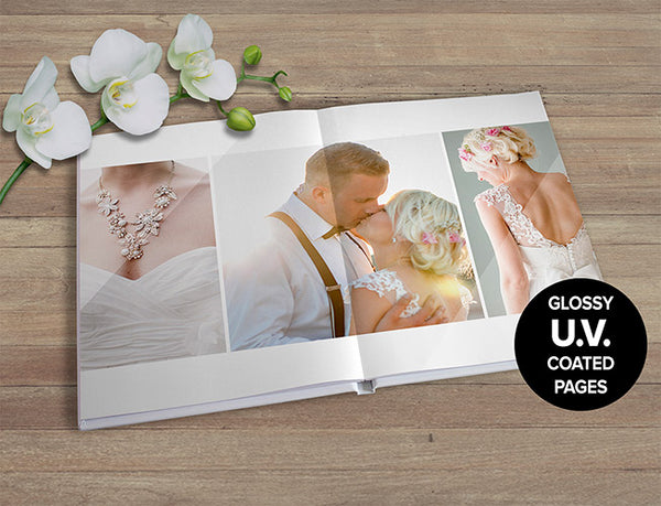 20x28cm Premium Seamless Portrait Book 60 pages