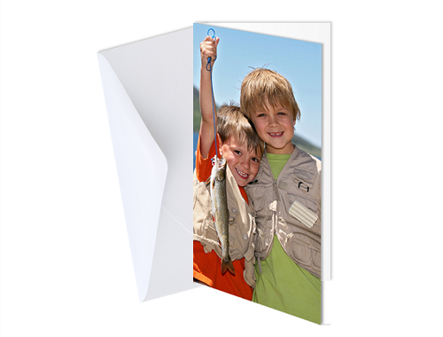"4 x 8"" Single Sided Card (Single)"