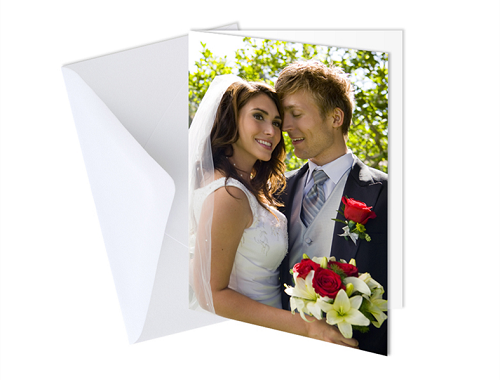 "5 x 7"" Single Sided Card (Single)"
