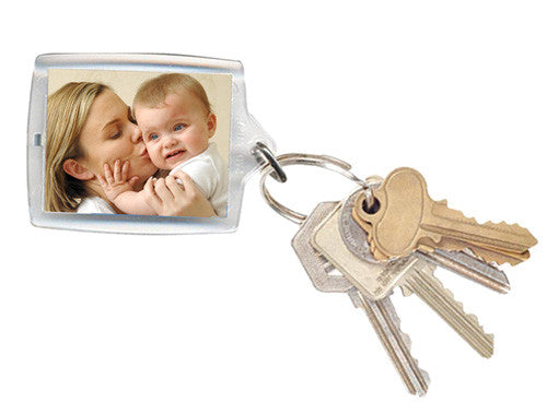 Rectangle Photo Keyring 45x62mm