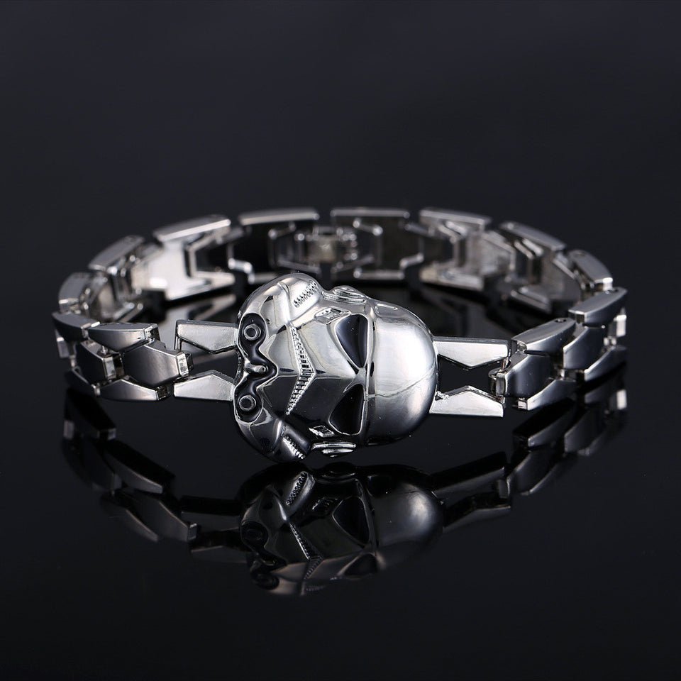 Star Wars Rock Silver Alloy Bracelet