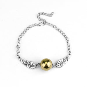 Golden Snitch Pocket Alloy Bracelet