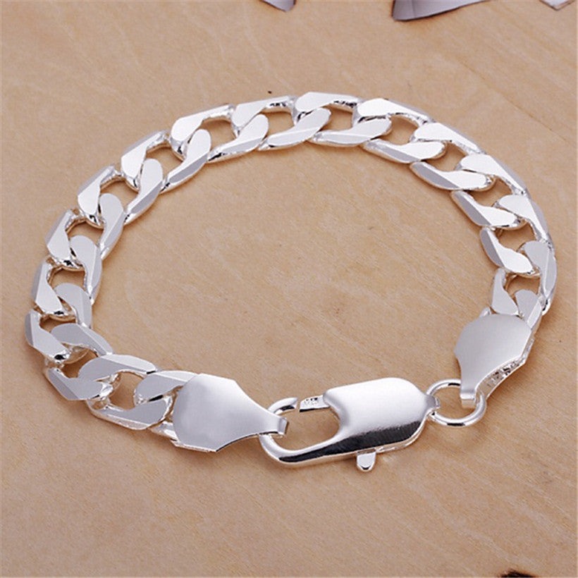 Silver plated high quality bracelet (Unisex)