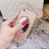 Mickey Mouse Ear Crystal phone case