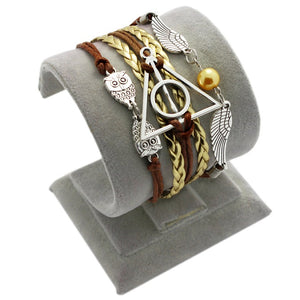 Harry potter owl wing bracelet (10 different designs)