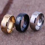 Superman Titanium Ring (Gold, Silver, Black)