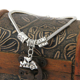 """I Love My Dog"" Vintage Heart Bracelet"