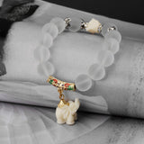 Elephant Beaded Buddha Stretchable Bracelet