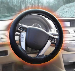 Electric heating steering wheel cover